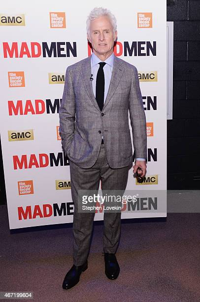 John Slattery attends the Mad Men special screening at The Film Society of Lincoln Center on March 21 2015 in New York City