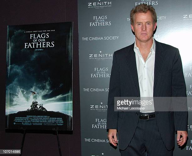 John Slattery during 'Flags Of Our Fathers' Special New York Screening Presented By The Cinema Society and Zenith Watches at Tribeca Grand Hotel...