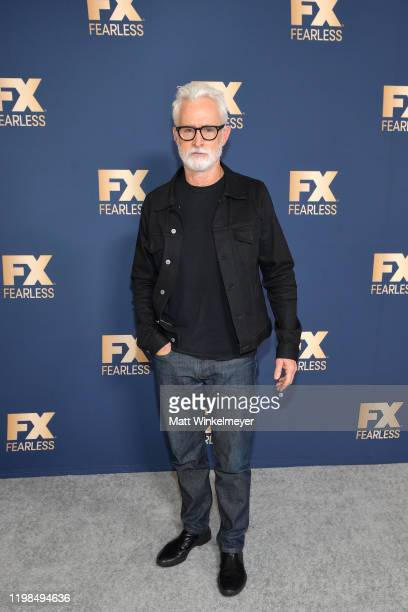 John Slattery of 'Mrs America' attends the FX Networks' Star Walk Winter Press Tour 2020 at The Langham Huntington Pasadena on January 09 2020 in...