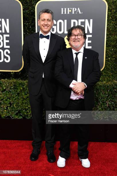 John Sloss and Charles B Wessler attend the 76th Annual Golden Globe Awards at The Beverly Hilton Hotel on January 6 2019 in Beverly Hills California
