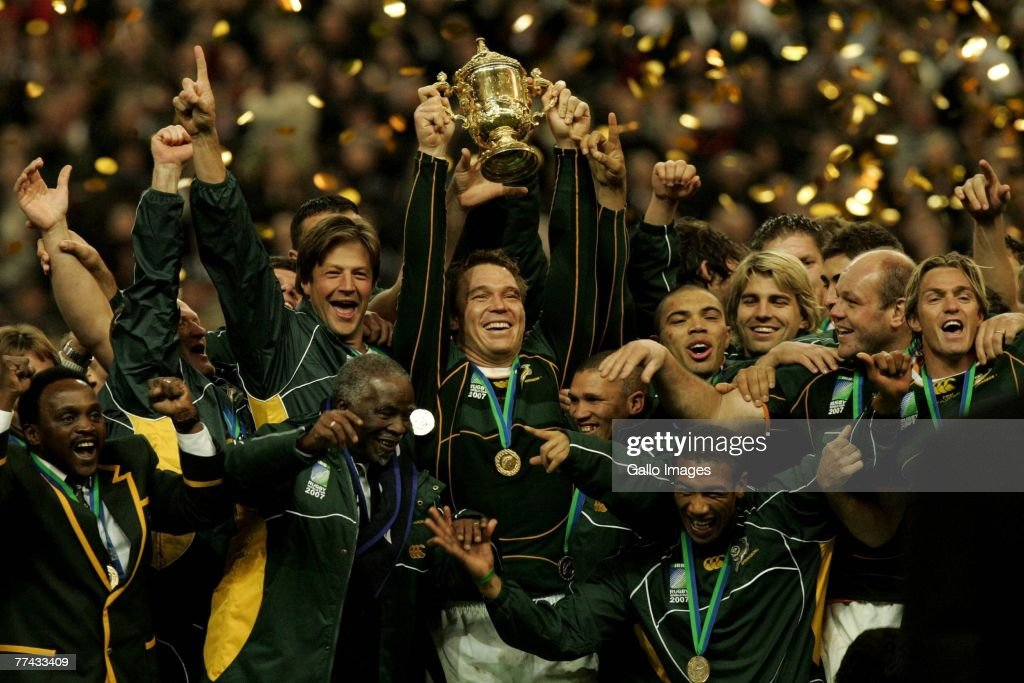 2007 RWC Final - England V South Africa : News Photo