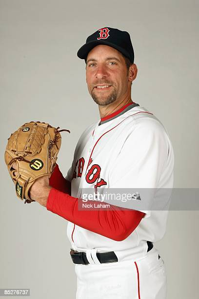 John Smoltz of the Boston Red Sox poses during photo day at the Red Sox spring training complex on February 22 2009 in Fort Myers Florida