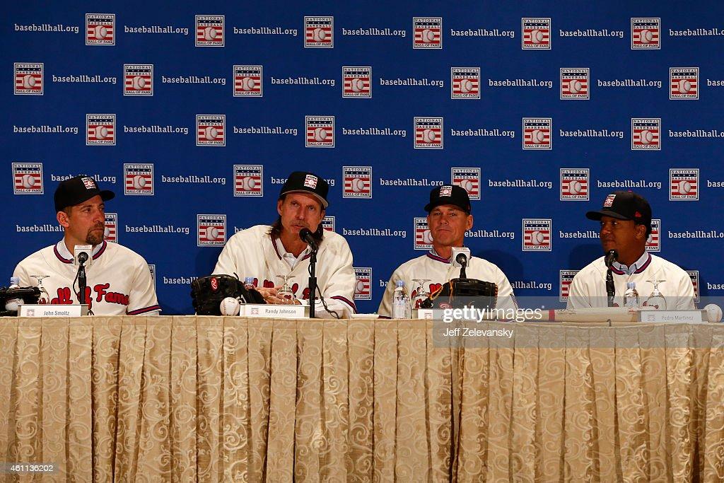 Baseball Hall of Fame News Conference : News Photo