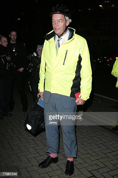 John Snow arrives at the Channel 4, 25th birthday party at the Quarter Club in London on October30, 2007 in London, England.