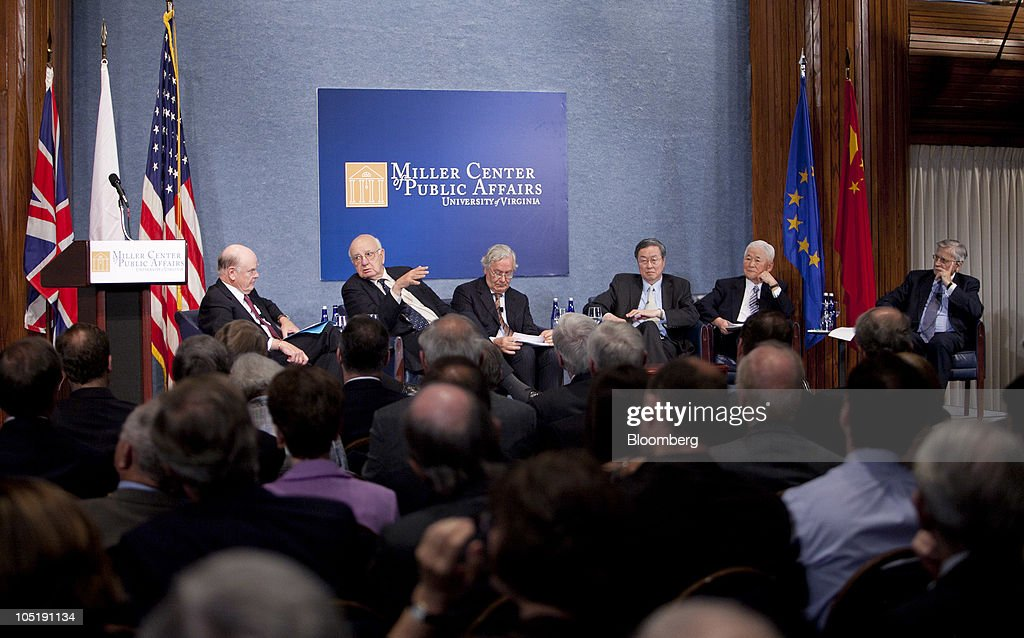 Volcker, Trichet, Zhou Xiaochuan At Central Bankers Conference