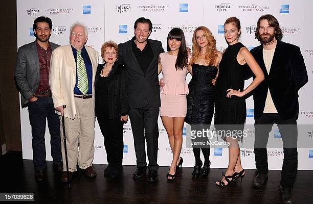 John SoloMalachy McCourtAnita GiletteEdward BurnsDaniella PinedaMarsha DietleinCaitlin Fitzgerald and Dara Coleman attend the Tribeca Film's Special...