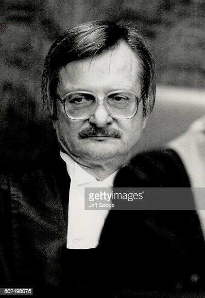 John Sopinka Supreme Court justice refused to rule on fetal rights question