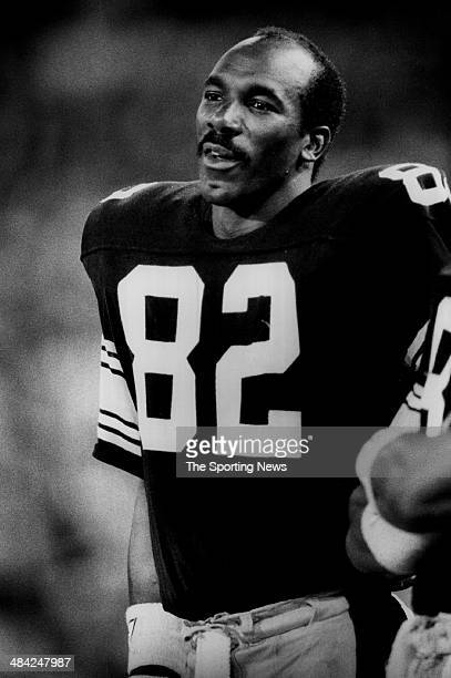 John Stallworth of the Pittsburgh Steelers looks on circa 1970s