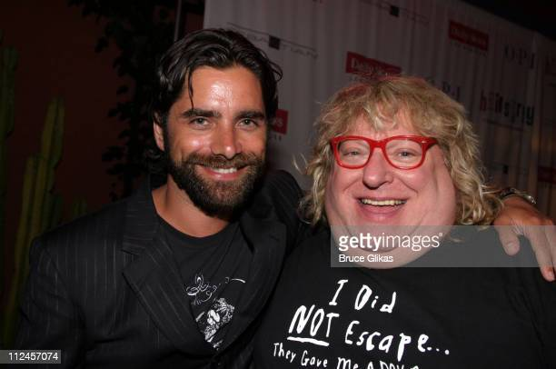 John Stamos and Bruce Vilanch during 'Hairspray' Opening Night Los Angeles After Party at Henry Fonda Theatre in Hollywood California United States