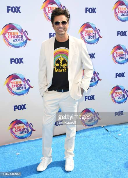 John Stamos attends FOX's Teen Choice Awards 2019 on August 11, 2019 in Hermosa Beach, California.