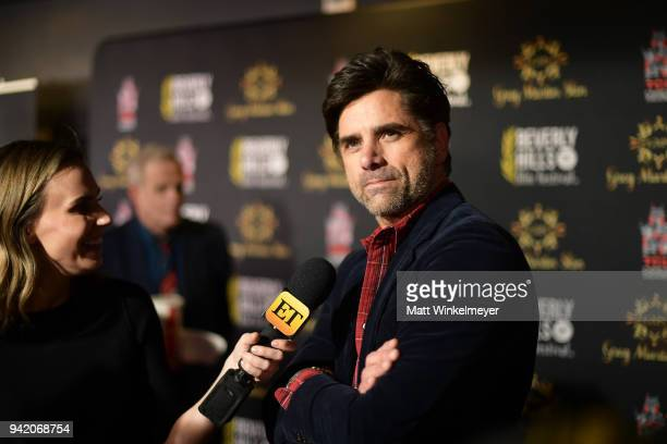 John Stamos attends the 18th Annual International Beverly Hills Film Festival Opening Night Gala Premiere of Benjamin at TCL Chinese 6 Theatres on...