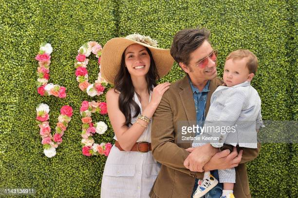 John Stamos Caitlin McHugh and childl attend the 3rd Annual Best Buddies Mother's Day Celebration Featuring Title Sponsor Hublot at La Villa Contenta...