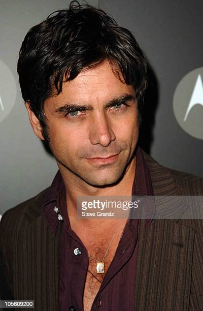 John Stamos during Motorola's Seventh Anniversary Party to Benefit Toys for Tots Arrivals at American Legion Hall in Los Angeles California United...