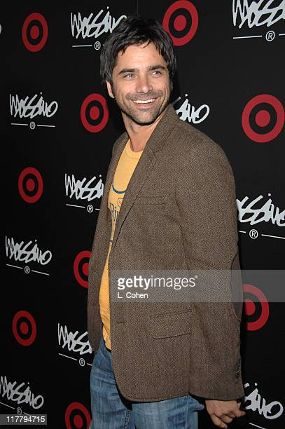 John Stamos during Target Hosts LA Fashion Week Party for Designer Mossimo Giannulli at Area in Los Angeles California United States
