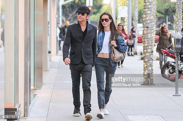 John Stamos is seen with his girlfriend Caitlin McHugh on December 07 2016 in Los Angeles California