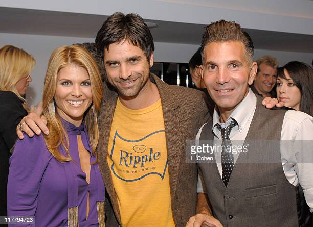 John Stamos Lori Loughlin And Mossimo Giannulli During Target Hosts La Fashion Week Party For Designer