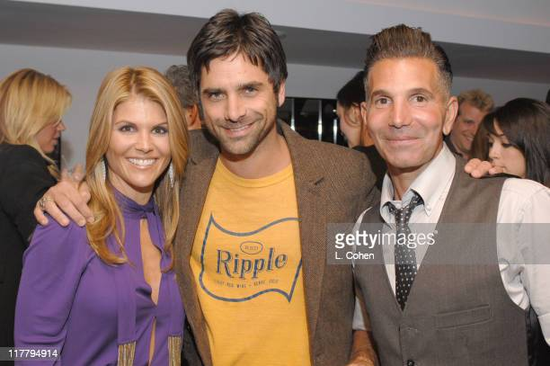 John Stamos Lori Loughlin and Mossimo Giannulli during Target Hosts LA Fashion Week Party for Designer Mossimo Giannulli Inside at Area in West...