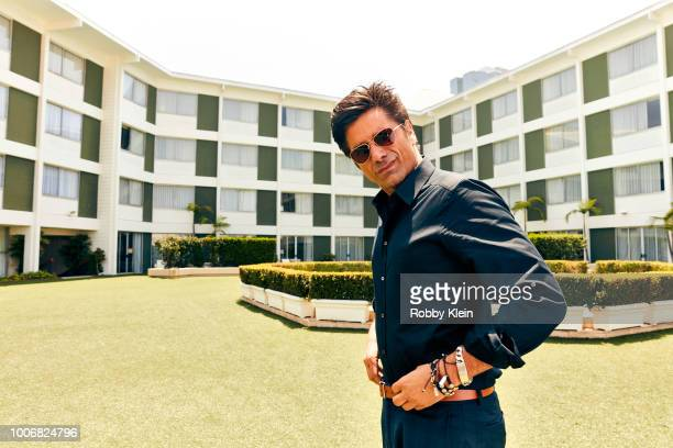 John Stamos of Lifetime's 'You' poses for a portrait during the 2018 Summer Television Critics Association Press Tour at The Beverly Hilton Hotel on...