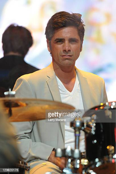 John Stamos of the Beach Boys performs at The Voices Against Brain Cancer Foundation Presents The 1st Annual Florida Sounding Off For A Cure Benefit...