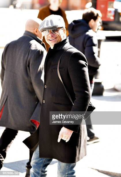 John Stamos seen on the streets of Manhattan on March 14 2018 in New York City