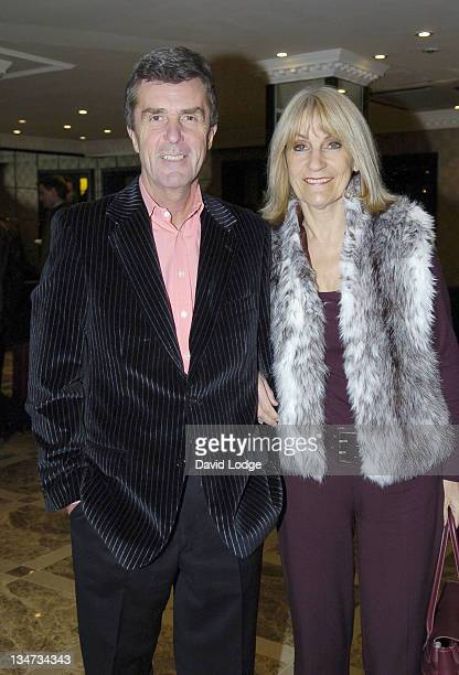 John Stapleton and Lynn FauldsWood during Anne Diamond Book Launch Party at Flemings Hotel in London Great Britain
