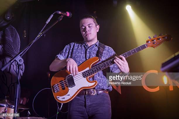 John Stark performs on stage at The Liquid Room on October 17, 2014 in Edinburgh, United Kingdom.