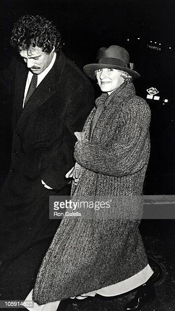 John Starke and Glenn Close during We're No Angels New York Premiere December 13 1989 at The Morgan Hotel in New York City New York United States