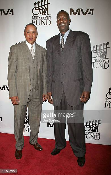 John Starks and Herb Williams attend the 24th Annual Great Sports Legends Dinner at The Waldorf=Astoria on October 6 2009 in New York City