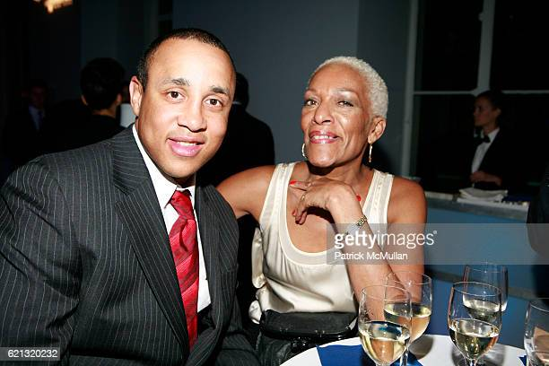 John Starks and Marita Monroe attend SPORTS MUSEUM OF AMERICA OPENING NIGHT GALA at SPORTS MUSEUM OF AMERICA on May 6 2008 in New York City
