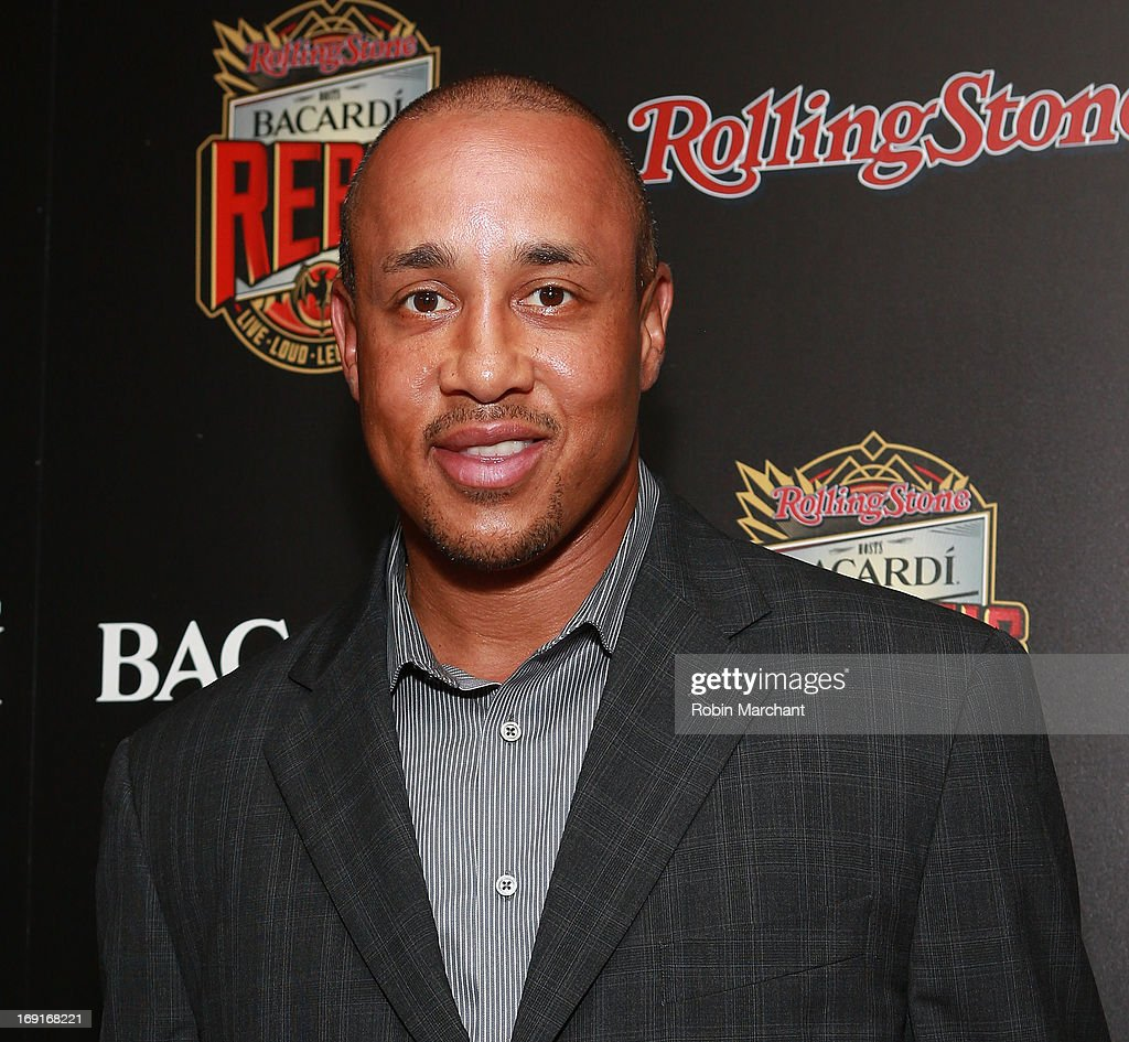 John Starks attends Inaugural Bacardi Rebels event hosted by Rolling Stone at Roseland Ballroom on May 20, 2013 in New York City.