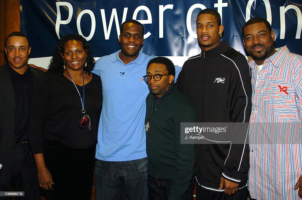 """Spike Lee and the Knicks Attend """"The Power of One"""" Panel Discussion - January"""