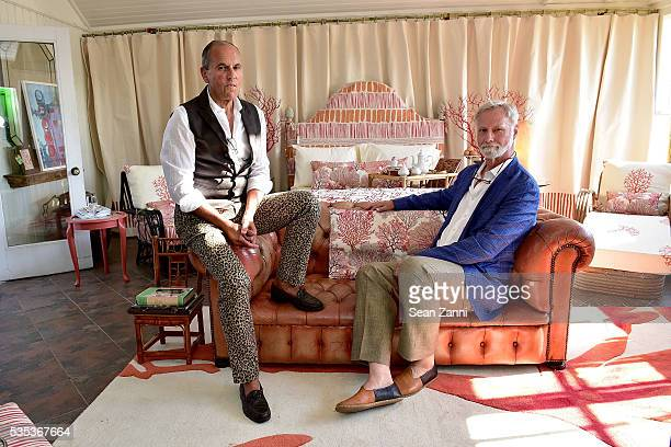 John Stedila and Tim Button attend Animal Rescue Fund of the Hamptons 6th Annual Thrift Shop Designer Showhouse at ARF Thrift Treasure Shop on May 28...