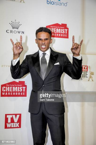John Steffenson arrives at the 59th Annual Logie Awards at Crown Palladium on April 23 2017 in Melbourne Australia