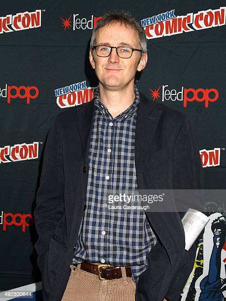 John Stephens of Gotham attends New York Comic Con 2015 Day 4 at The Jacob K Javits Convention Center on October 11 2015 in New York City