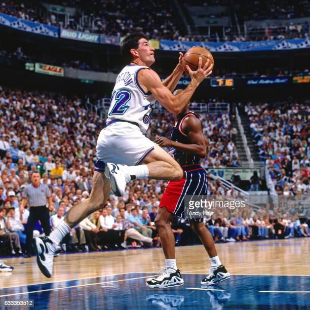Houston Rockets Vs Utah Jazz: John Stockton Fotografías E Imágenes De Stock