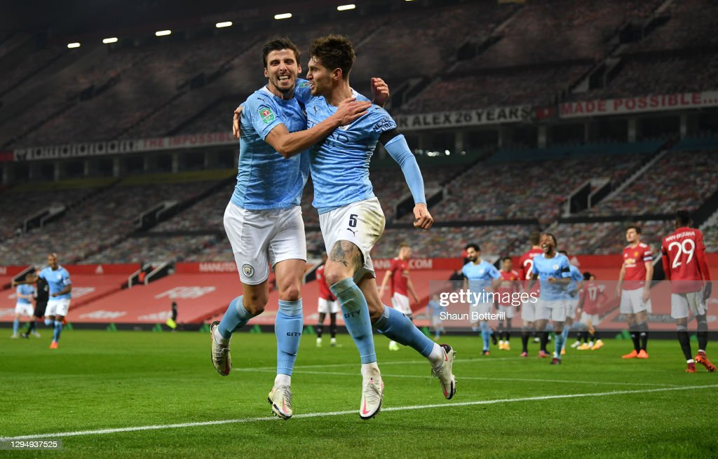 Manchester United v Manchester City - Carabao Cup Semi Final : News Photo