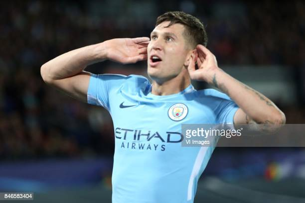 John Stones of Manchester City during the UEFA Champions League group F match between Feyenoord Rotterdam and Manchester City at the Kuip on...