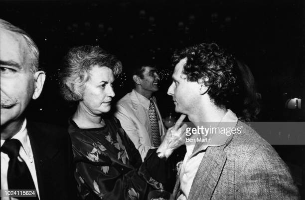 John Strasberg son of famed Actor's Studio teacher Lee Strasberg with actress Bea Arthur October 3rd 1980 Los Angeles US