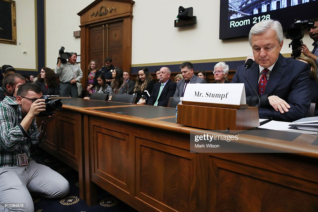 Wells Fargo CEO Testifies Before House Financial Services Committee