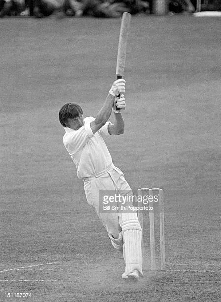John Sullivan batting for Lancashire during their Gillette Cup 3rd round match against Hampshire at Old Trafford in Manchester 8th July 1970...