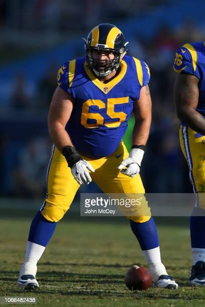 John Sullivan of the Los Angeles Rams at Los Angeles Memorial Coliseum on November 11 2018 in Los Angeles California The Rams won 3631