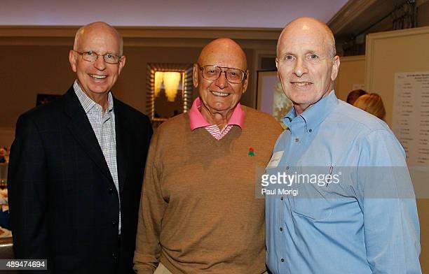 John Sullivan President MedStar Washington Hospital Center Louis Donatelli and Richard Kief SVP of Philanthropy Washington Hospital Center pose for a...