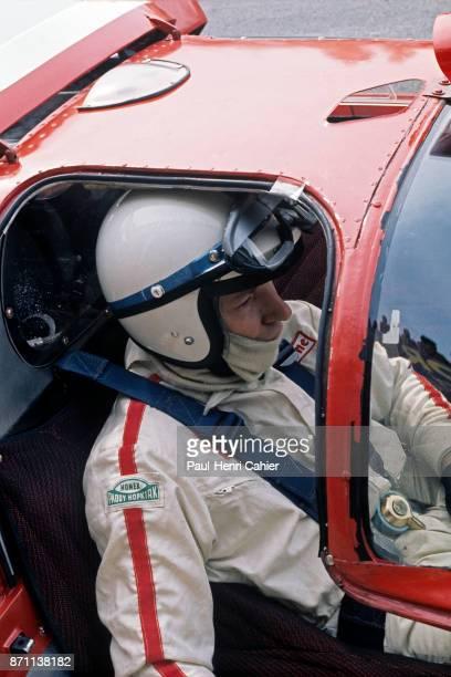John Surtees 1000 Km of Monza Autodromo Nazionale Monza 25 April 1970 John Surtees in the Ferrari 512S during the 1000 Km of Monza endurance race in...