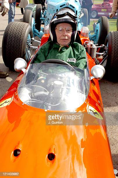 John Surtees during The Opening Day Of Goodwood Races March 24 2004 at Goodwood Racecourse in Goodwood Great Britain