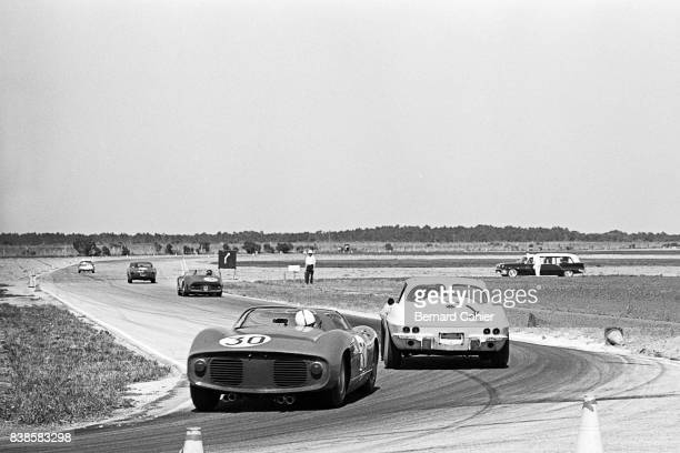 John Surtees, Ferrari 250P, 12 Hours of Sebring, Sebring, 23 March 1963.