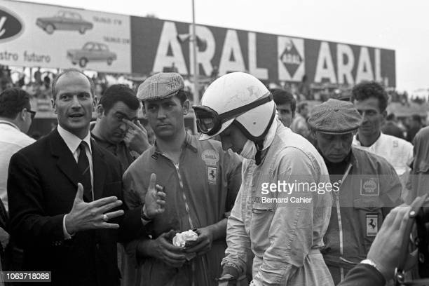 John Surtees, Grand Prix of Italy, Autodromo Nazionale Monza, 06 September 1964. John Surtees on the starting grid before the start of the 1964...