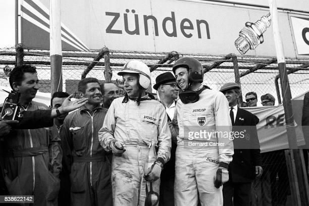 John Surtees Jim Clark Grand Prix of Germany Nurburgring 04 August 1963