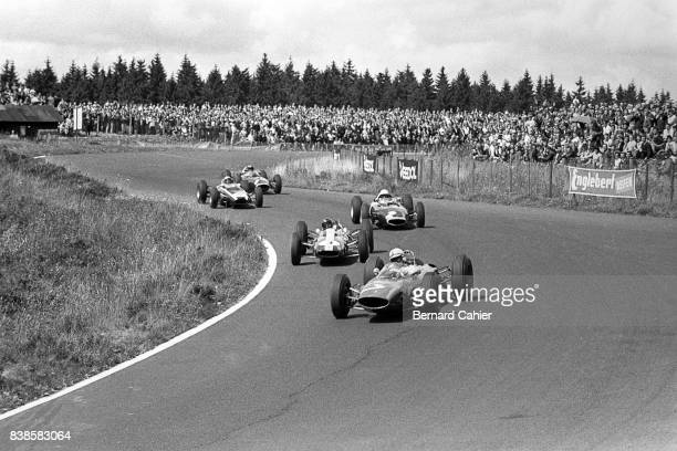 John Surtees Jim Clark Richie Ginther Cooper T66 LotusClimax 25 BRM P57 Grand Prix of Germany Nurburgring 04 August 1963