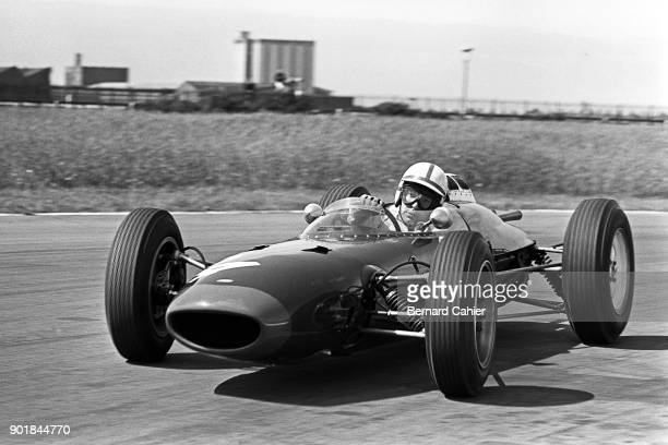 John Surtees LolaClimax Mk4 Grand Prix of Great Britain Aintree 21 July 1962