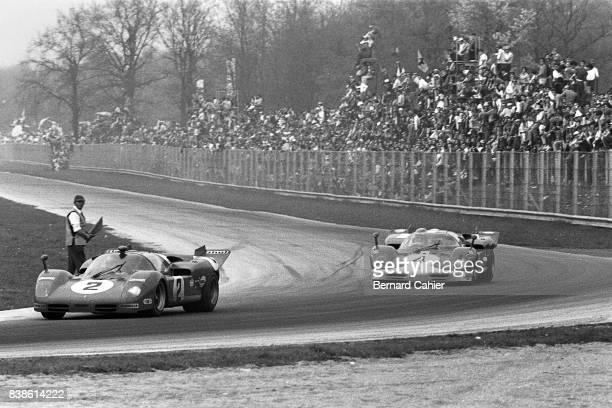 John Surtees Mike Parkes Ferrari 512S 1000 Km of Monza Monza 25 April 1970